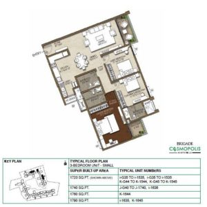 3-Bedroom -Floor-Plan
