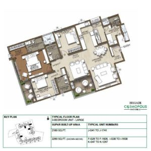 3-Bedroom -Large-Floor-Plan