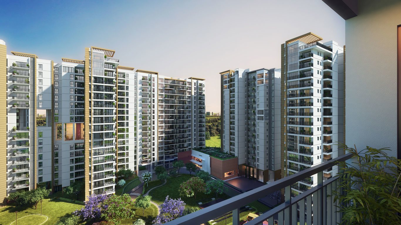 Brigade cosmopolis apartments whitefield brigade group for Balcony restaurant group