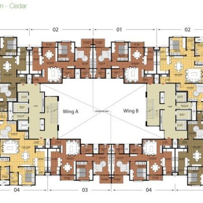 Cedar-Typical Floor Plan
