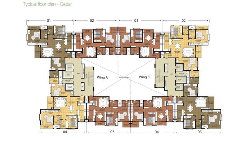 Salarpuria greenage luxury apartments salarpuria group Cedar homes floor plans