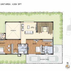 Clara-Type 1-villa First Floor plan