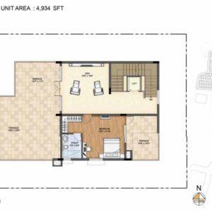 Clara-Type 1-villa Second Floor plan