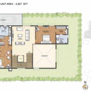 Clara-Type 2-villa First floor plan