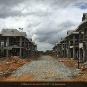 Development of Prestige Lakeside Habitat villas