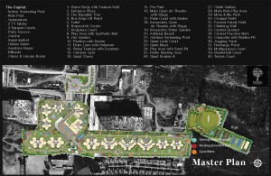 Divyasree Republic of Whitefield Master plan