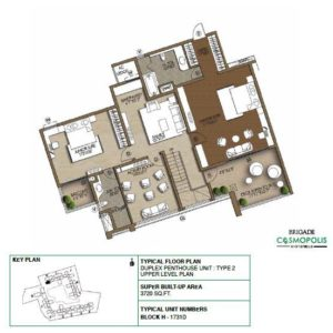 PentHouse-Type2-Upper-Level-Floor-Plan