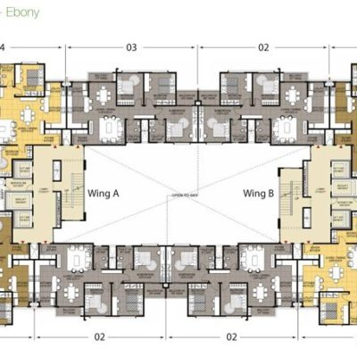 Ebony Typical Floor Plan
