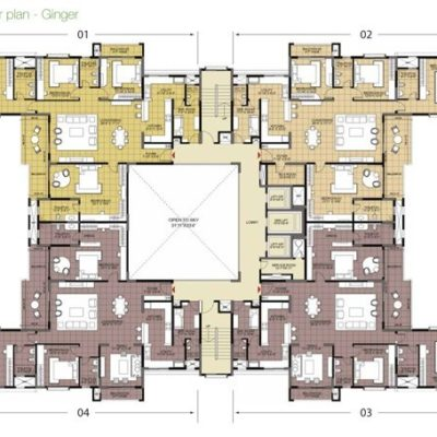 Ginger Typical Floor Plan
