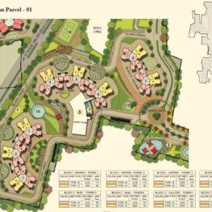 Numbering Plan Parcel - 01- Prestige Lakeside Habitat