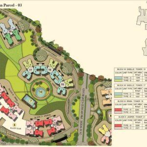 Numbering Plan Parcel - 03- Prestige Lakeside Habitat