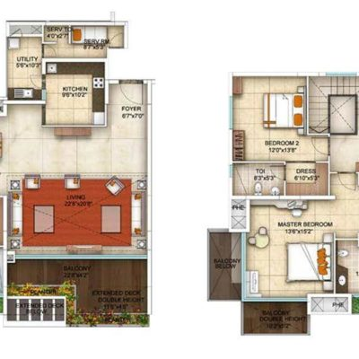 PentHouse-Floor Plans-The Five Summits Address