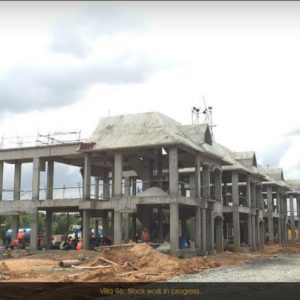 Prestige Constructions Lake Side Habitat construction Progress 2015