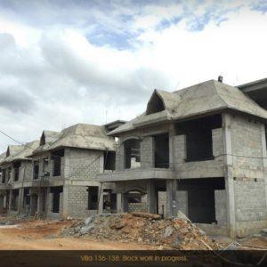 Prestige Lake Side habitat Villas Development Progress Pictures