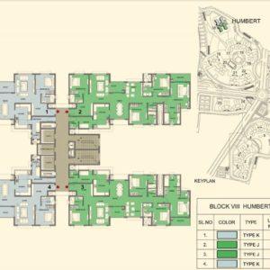 Tower 18- Prestige Lakeside Habitat Typical Floor Plan