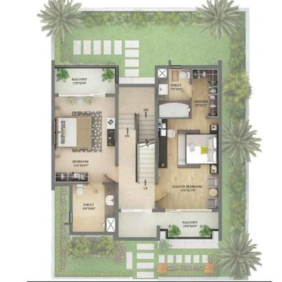 2900 SFT First Floor Plan