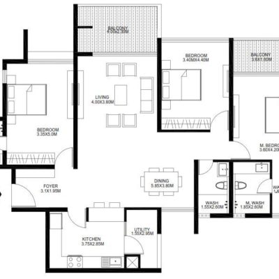 godrej-united-3-bedroom-plan