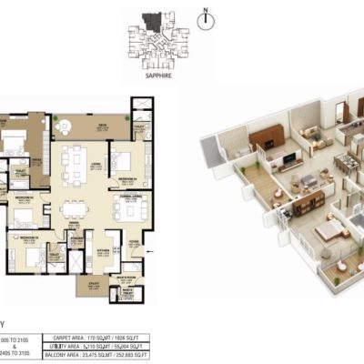shapoorji-parkwest-binnypet-floor-plans