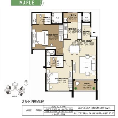 shapoorji-parkwest-maple-floor-plan