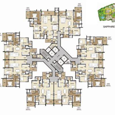 shapoorji-parkwest-sapphire-layout-plan
