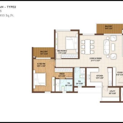 dnr-reflection-3-bedroom-floor-plan