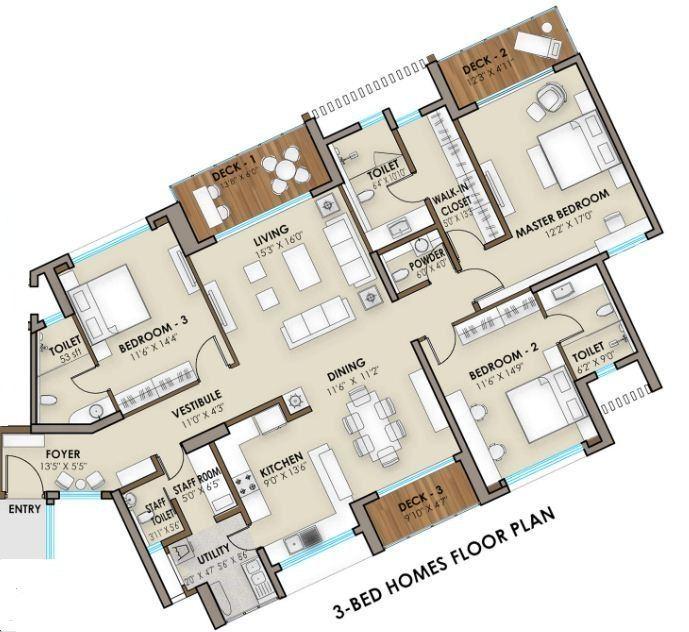 Phoenix One Bangalore West 3 & 4 BHK Apartment Rajajinagar Bangalore