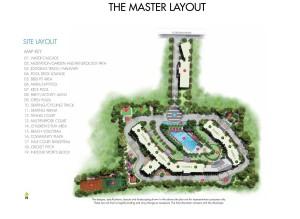 Equinox Waters edge Master Plan, Equinox Water's edge Plans, Equinox Waters edge Hebbal Bangalore
