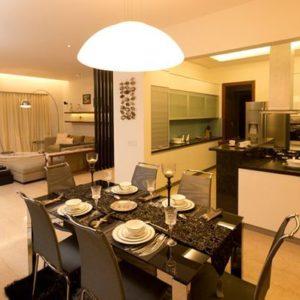 Living Dining Kitchen Equinox Water's edge