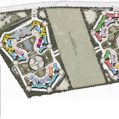 Master Plan Prestige Sunrise Park Electronics city bangalore