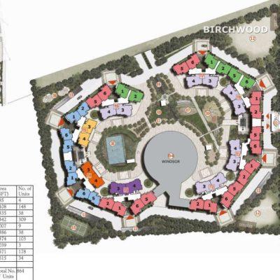 Prestige Sunrise Park Birchwood Numbering Plan