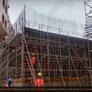 Prestige Sunrise Park Construction Progress
