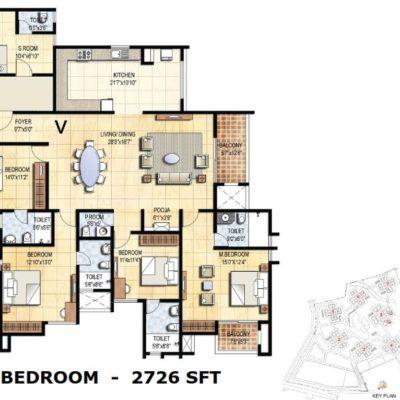 prestige-falcon-city-4-bhk-floor-plan