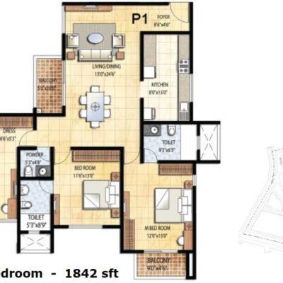 prestige-falcon-city-floorplan