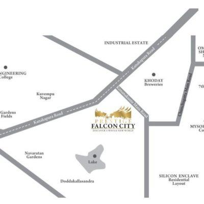 prestige-falcon-city-location