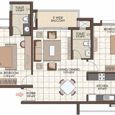 prestige-kew-gardens-floor-plans