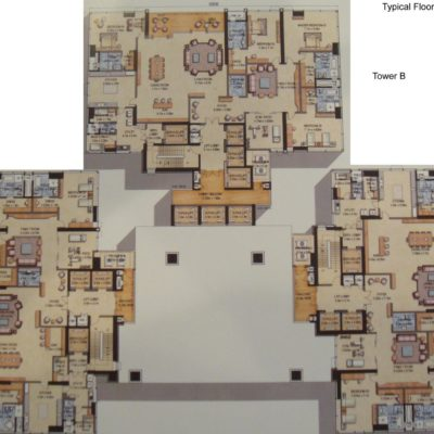 Prestige Kingfisher Towers floor plan