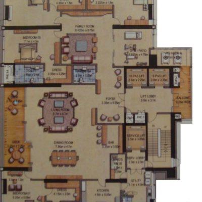 prestige-kingfisher-towers-residences-floor-plan