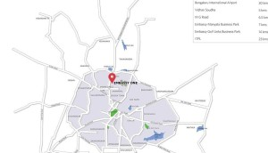 embassy-four-seasons-private-residences-location-bellary-road-bangalore