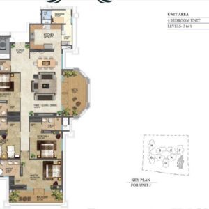 floor-plans-prestige-leela-residencies-bangalore