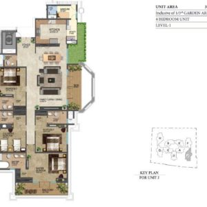 leela-residences-4-bedroom-floor-plan