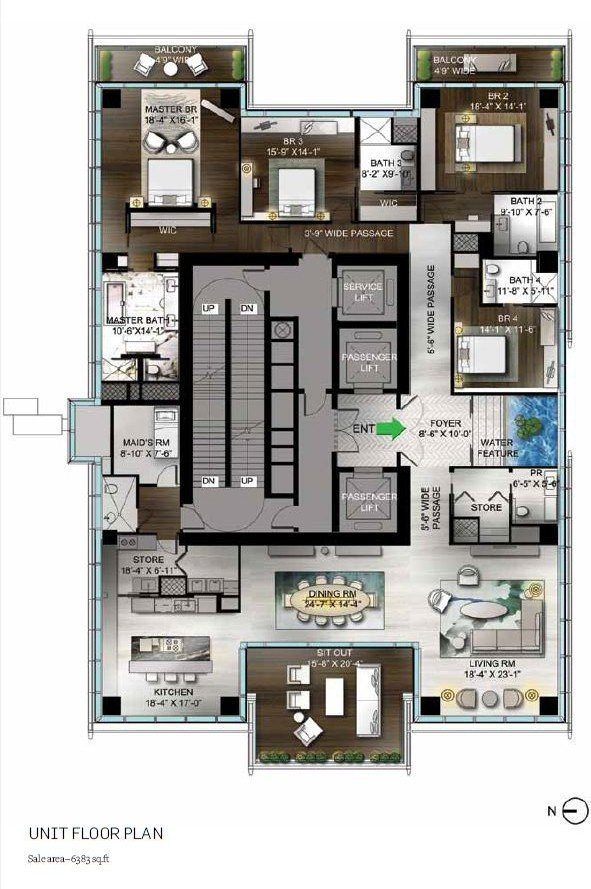 nitesh-park-avenue-floor-plan