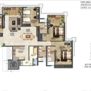 prestige-leela-residences-floor-plans