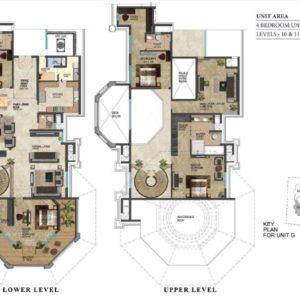 prestige-leela-residences-penthouse-floor-plan