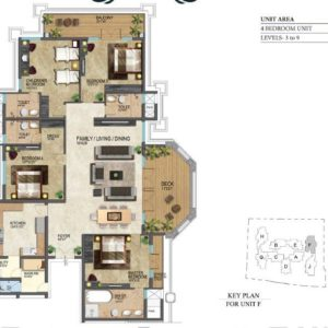 prestige-leela-residencies-floor-plan