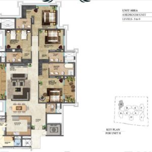prestige-leela-residencies-floor-plans