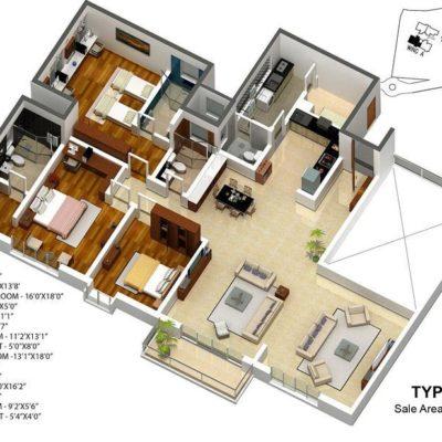karle-zenith-3-bedroom-floor-plan-type-6