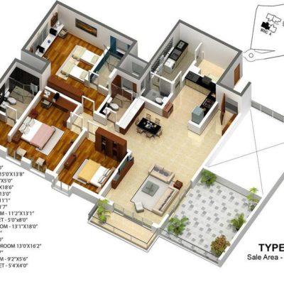 karle-zenith3-bedroom-floor-plan-type-7
