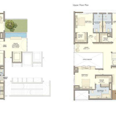 A1 Floor Plans Divyasree 77 SKY