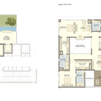D1 Floor Plan Divyasree 77 SKY