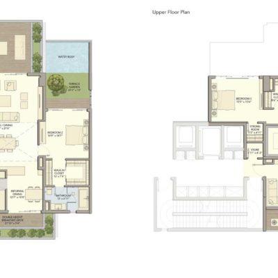 D2 Floor Plan Divyasree 77 SKY